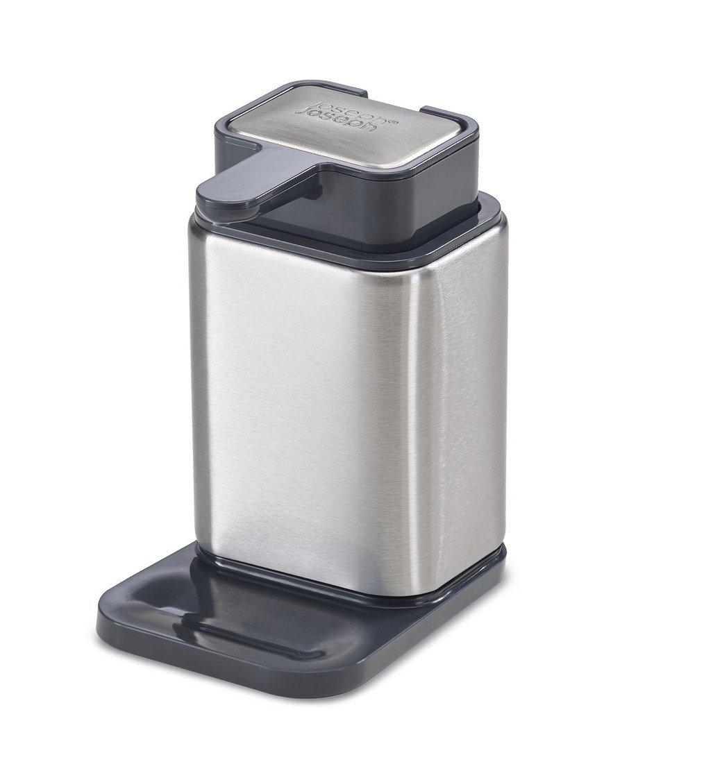 Онлайн каталог PROMENU: Диспенсер для мыла из нержавеющей стали Joseph Joseph SURFACE, 10,6х14,5х7,9 см, серебристый                               85113