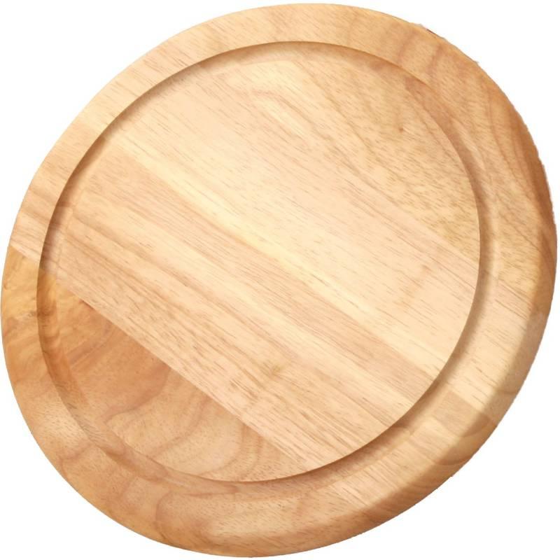 Онлайн каталог PROMENU: Доска деревянная для пиццы Continenta, диаметр 33 см                               3207