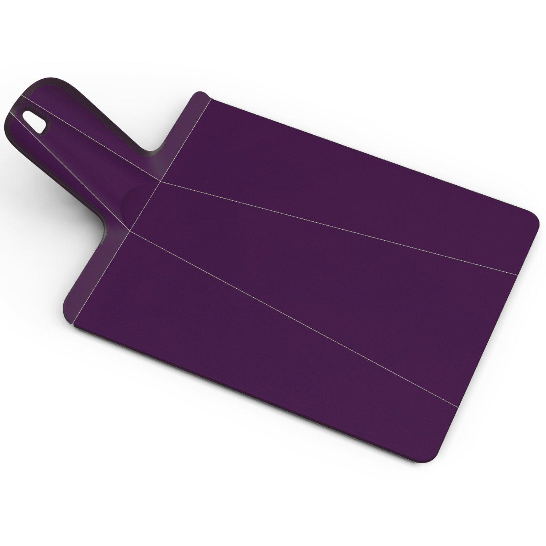 Онлайн каталог PROMENU: Доска разделочная Joseph Joseph CHOP2POT, 38х21х1,5 см, фиолетовый Joseph Joseph 60050