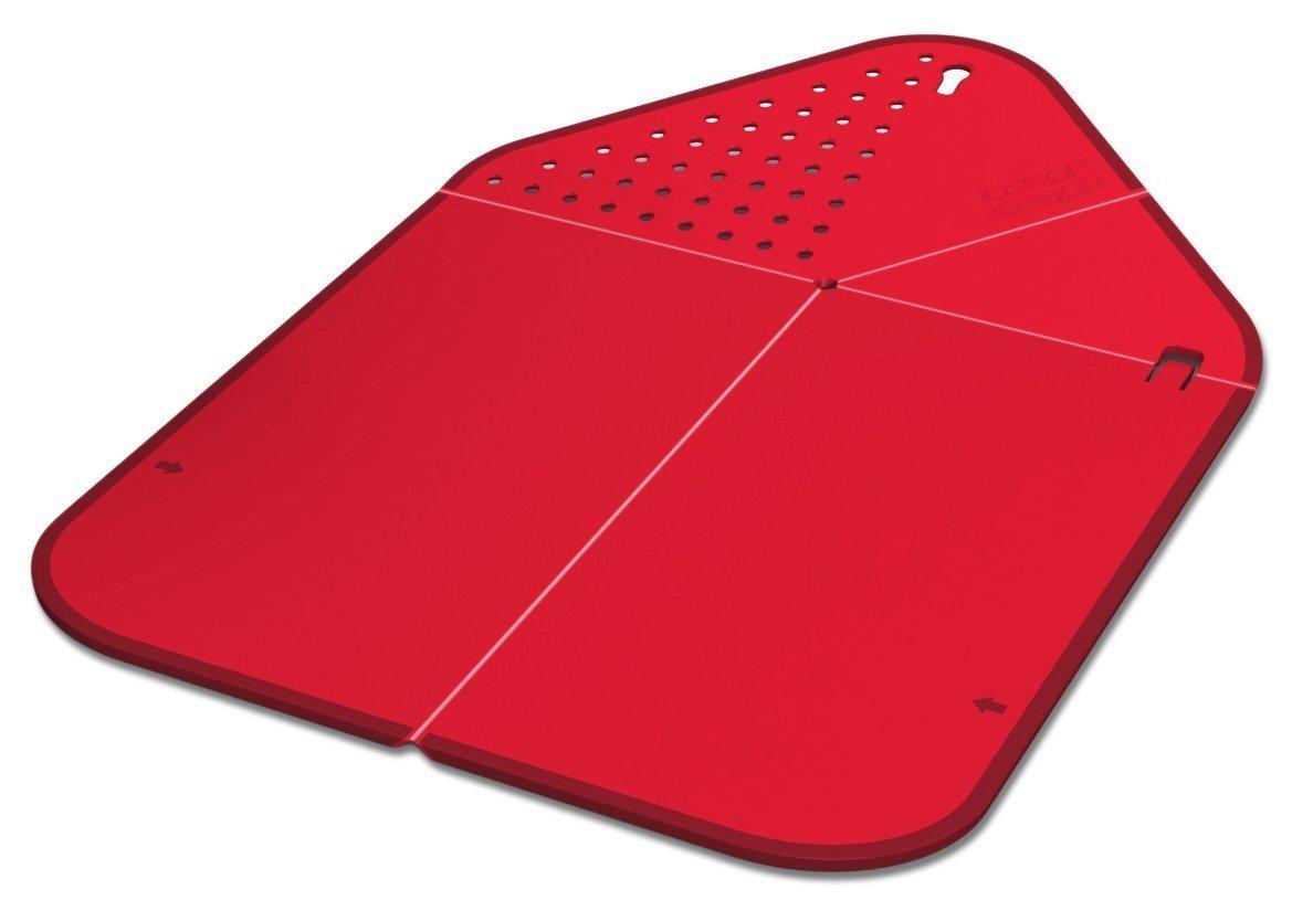 Онлайн каталог PROMENU: Доска разделочная складная Joseph Joseph RINSE AND CHOP, 43x28x0,5 см, красный Joseph Joseph RCR016SW
