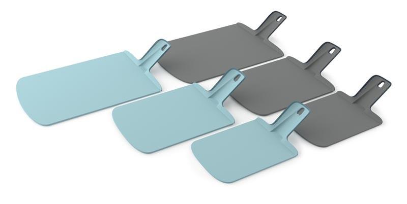 Доска разделочная Joseph Joseph chop2pot, 38х21х1,5 см, голубой Joseph Joseph 60103 фото 2