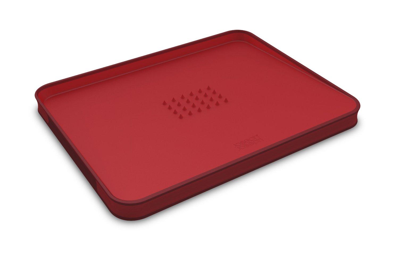 Онлайн каталог PROMENU: Доска разделочная для мяса Joseph Joseph cut&carve plus, двухсторонняя, 29x22,5x2 см, красный Joseph Joseph 60014