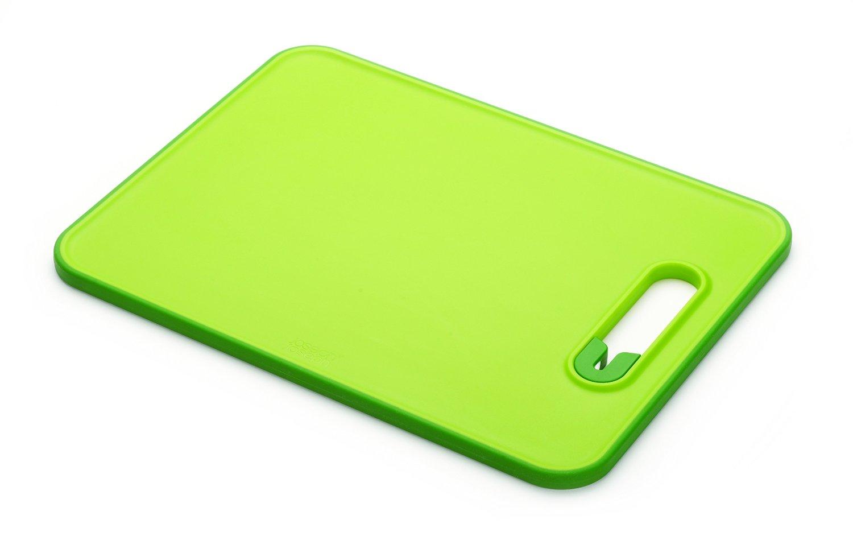 Онлайн каталог PROMENU: Доска разделочная с ножеточкой Joseph Joseph slice&sharpen, 29,5x22,5x1 см, зеленый Joseph Joseph 60047