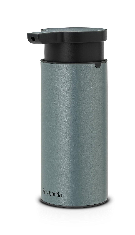 Дозатор для жидкого мыла Brabantia, объем 0,2 л, мятный с черным Brabantia 107467 фото 1