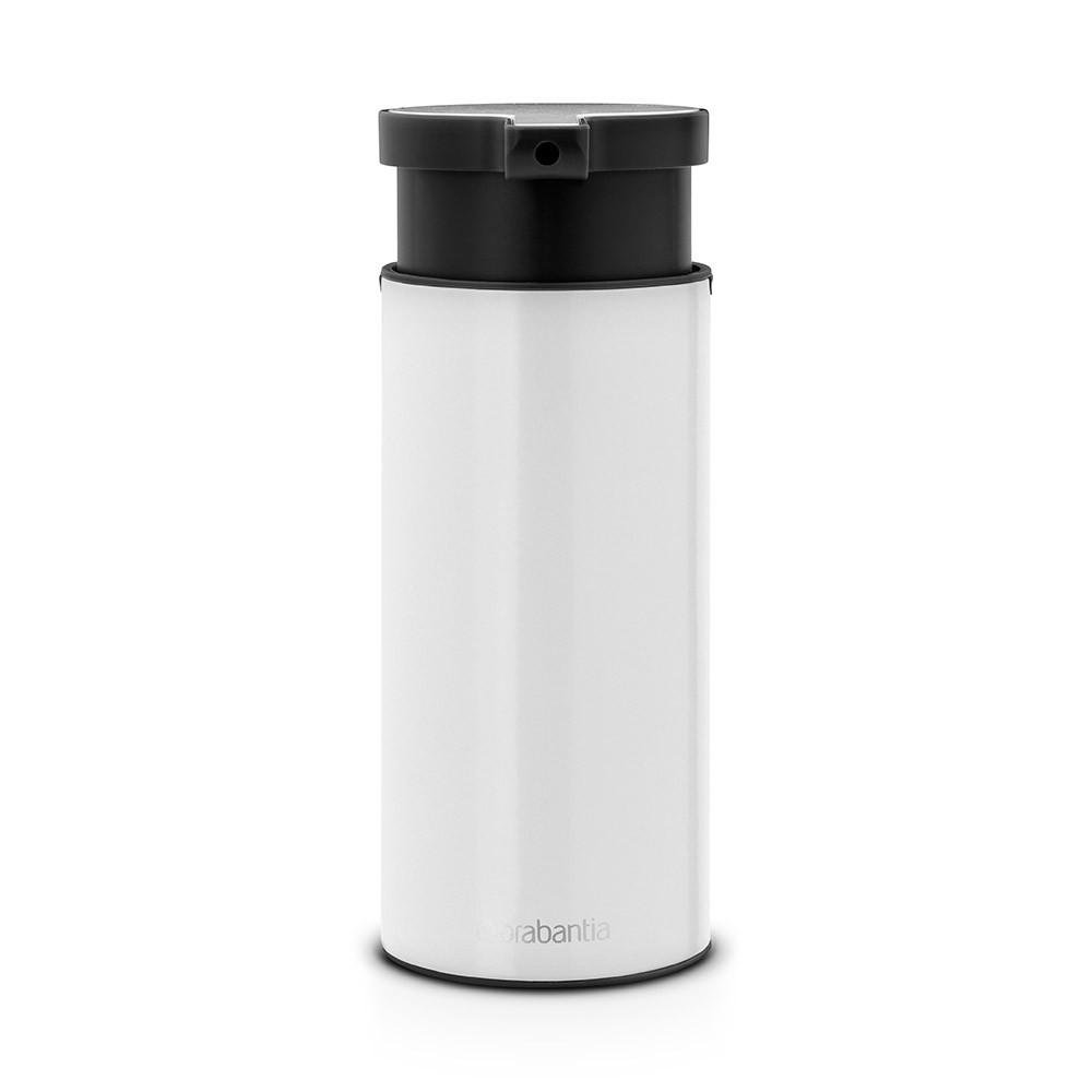 Онлайн каталог PROMENU: Дозатор для жидкого мыла Brabantia, объем 0,2 л, белый с черным Brabantia 108181