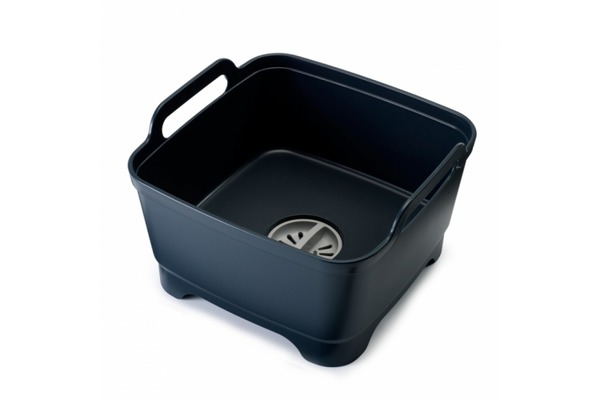Онлайн каталог PROMENU: Емкость для мытья посуды со сливом Joseph Joseph, 31х30х20 см, серый Joseph Joseph 85064
