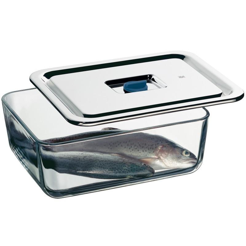 Емкость для продуктов WMF, 26х21 см, прозрачный с серебристым WMF 06 5490 6040 фото 2