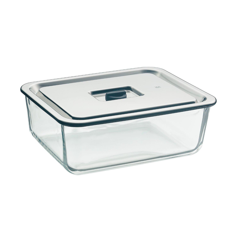 Онлайн каталог PROMENU: Емкость для продуктов WMF, 26х21 см, прозрачный с серебристым WMF 06 5490 6040