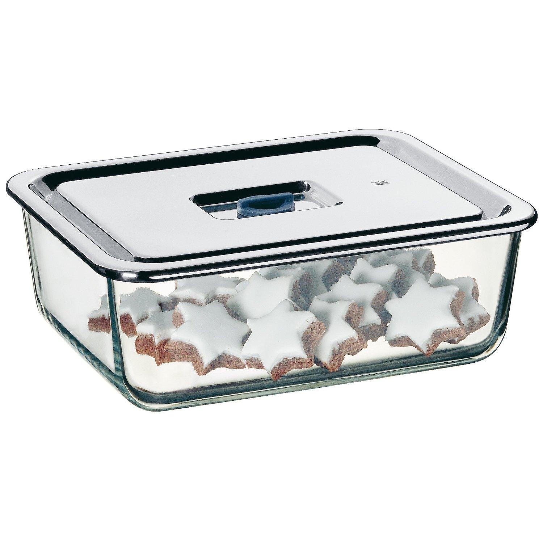Емкость для продуктов WMF, 26х21 см, прозрачный с серебристым WMF 06 5490 6040 фото 5