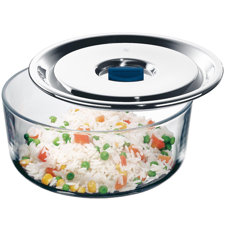 Емкость для продуктов WMF, диаметр 18 см, прозрачный с серебристым WMF 06 5487 6040 фото 6