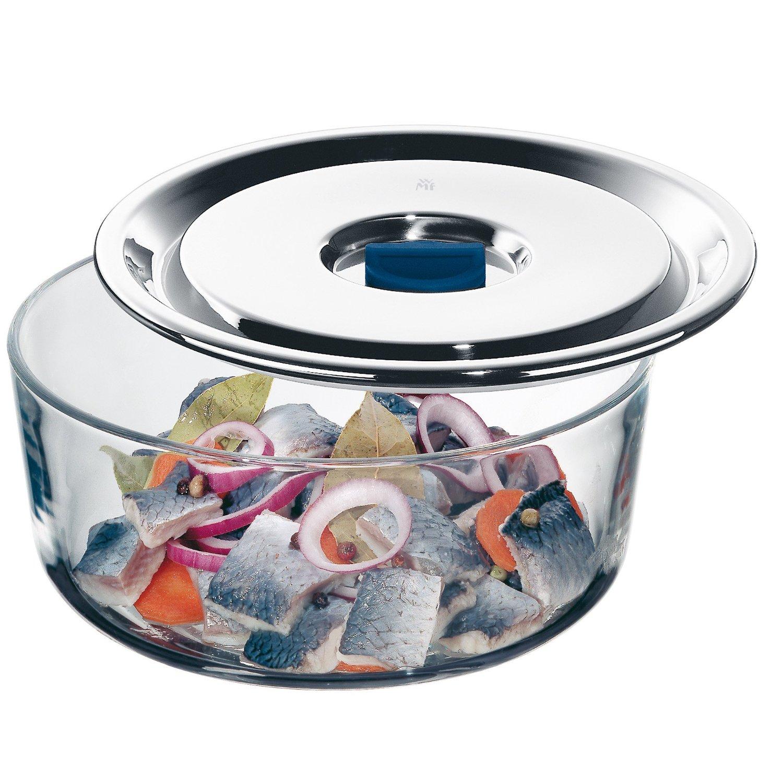 Емкость для продуктов WMF, диаметр 18 см, прозрачный с серебристым WMF 06 5487 6040 фото 3