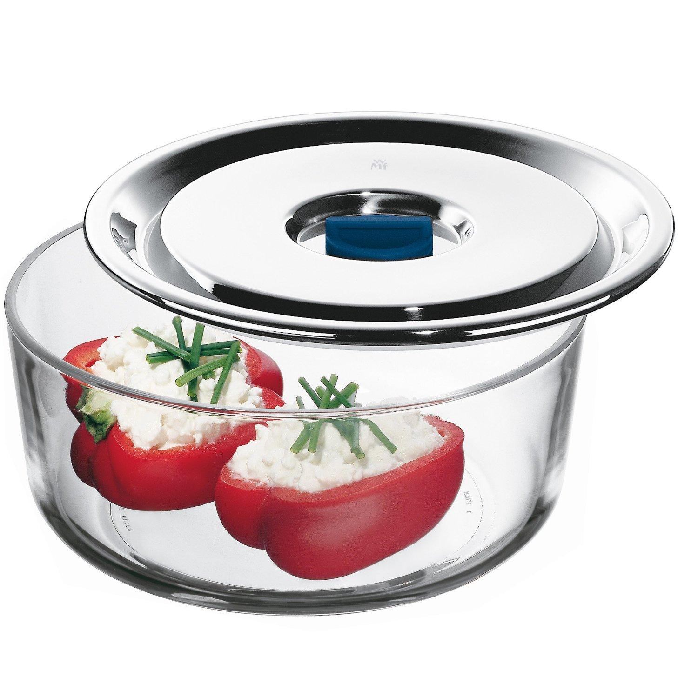 Емкость для продуктов WMF, диаметр 18 см, прозрачный с серебристым WMF 06 5487 6040 фото 2