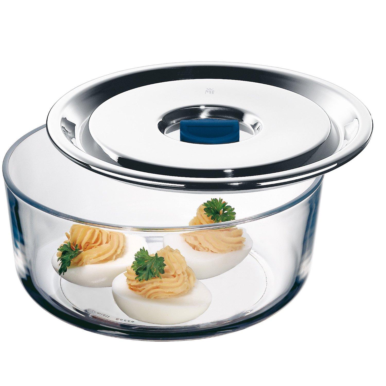 Емкость для продуктов WMF, диаметр 18 см, прозрачный с серебристым WMF 06 5487 6040 фото 1