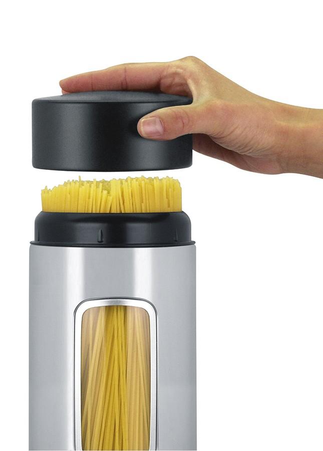 Емкость для продуктов с крышкой и окошком Brabantia, объем 2,2 л, серебристый Brabantia 371844 фото 1