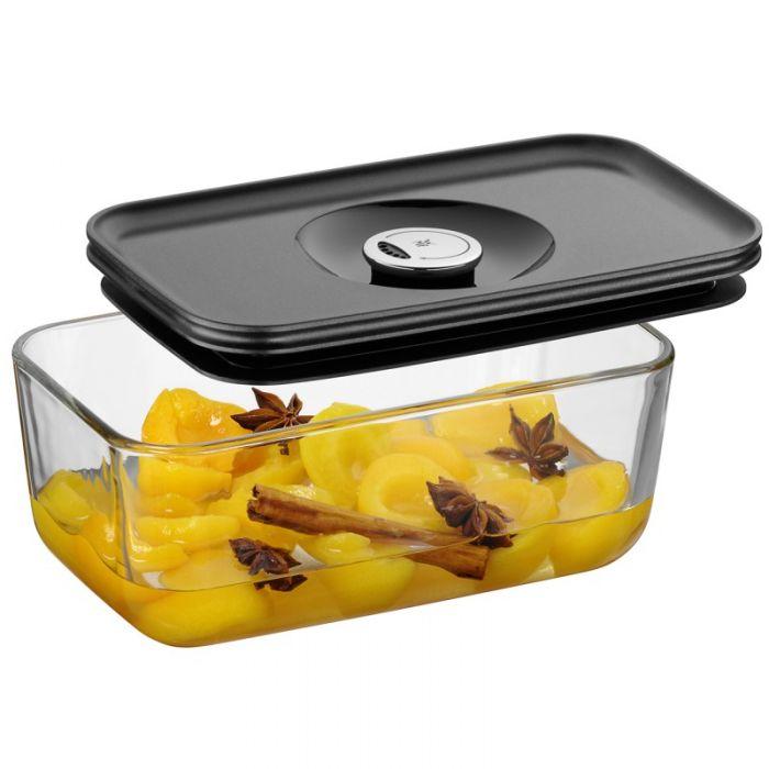 Емкость с крышкой для продуктов 21х13 см WMF Depot Fresh, прозрачный с серым WMF 06 5991 6630 фото 2