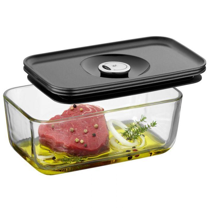 Емкость с крышкой для продуктов 21х13 см WMF Depot Fresh, прозрачный с серым WMF 06 5991 6630 фото 1