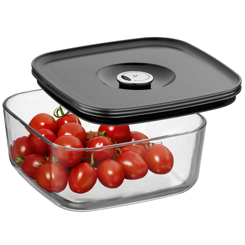 Емкость для продуктов с крышкой WMF Depot Fresh, 19х19 см, прозрачный с серым WMF 06 5994 6630 фото 1