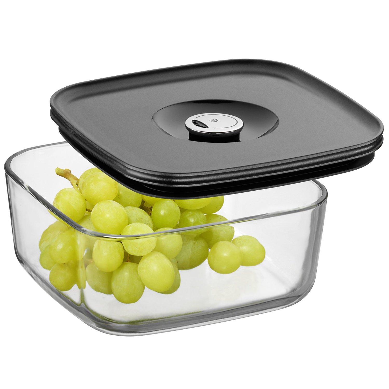 Емкость для продуктов с крышкой WMF Depot Fresh, 19х19 см, прозрачный с серым WMF 06 5994 6630 фото 2