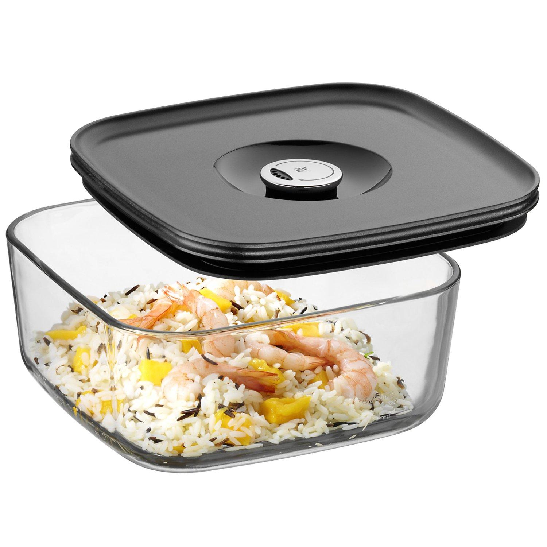 Емкость для продуктов с крышкой WMF Depot Fresh, 19х19 см, прозрачный с серым WMF 06 5994 6630 фото 4