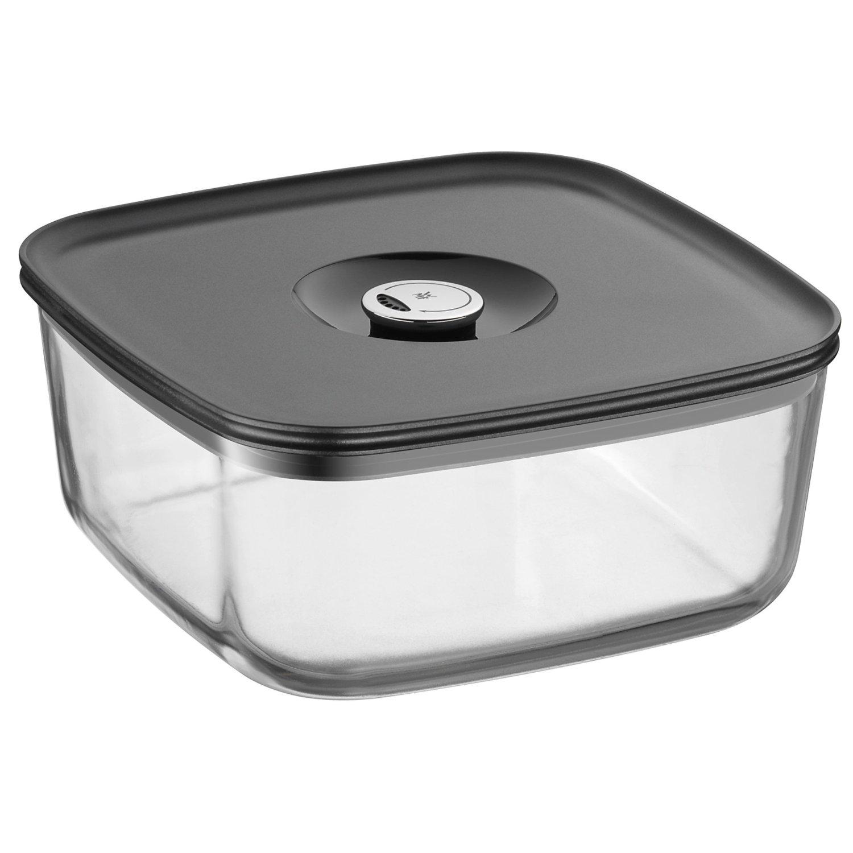 Онлайн каталог PROMENU: Емкость для продуктов с крышкой WMF Depot Fresh, 22х22 см, прозрачный с серым WMF 06 5995 6630