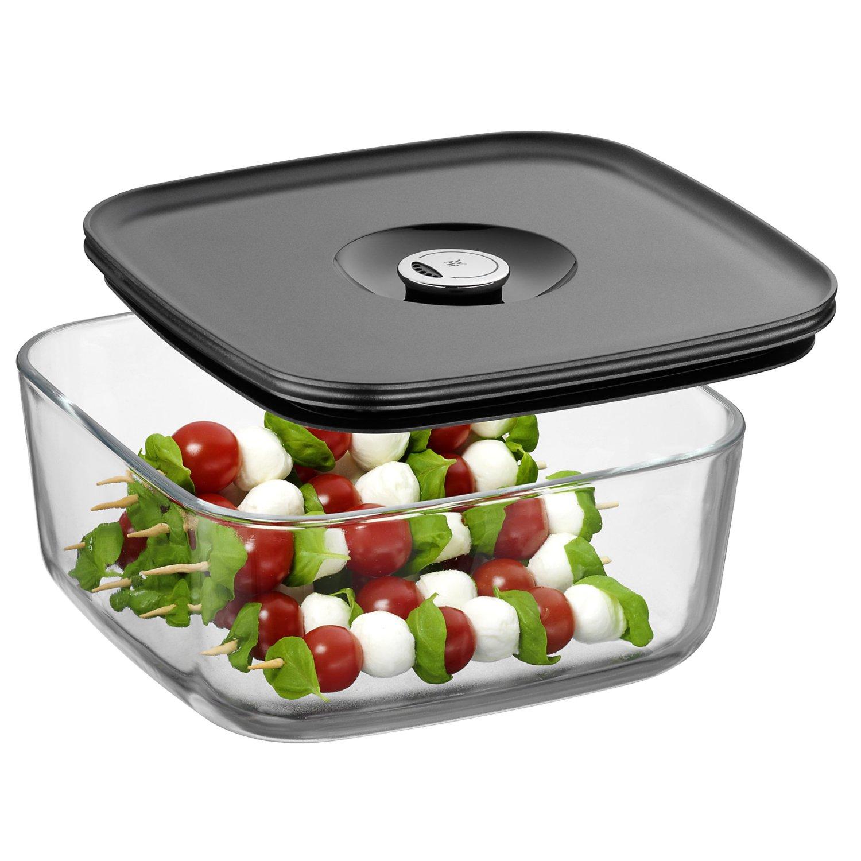 Емкость для продуктов с крышкой WMF Depot Fresh, 22х22 см, прозрачный с серым WMF 06 5995 6630 фото 1