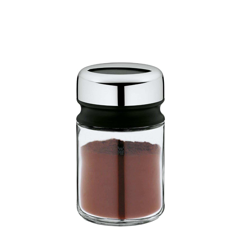 Емкость для сахарной пудры/корицы WMF DEPOT, диаметр 5,5 см, высота 9,5 см, прозрачный с серебристым WMF 06 6154 6040 фото 2