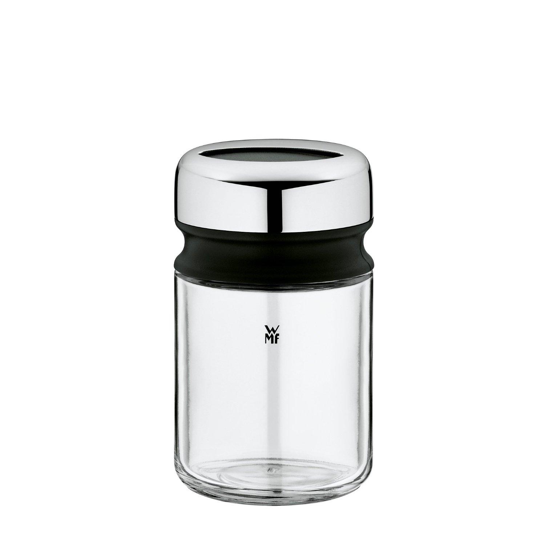 Онлайн каталог PROMENU: Емкость для сахарной пудры/корицы WMF DEPOT, диаметр 5,5 см, высота 9,5 см, прозрачный с серебристым WMF 06 6154 6040