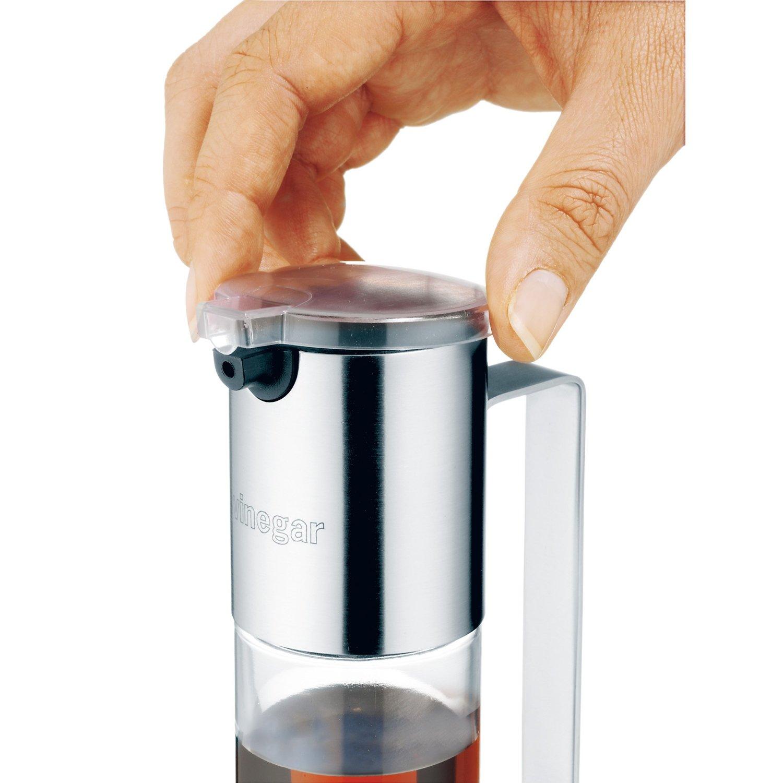 Емкость для уксуса WMF, объем 0,12 л, прозрачный с серебристым WMF 06 1915 6030 фото 4