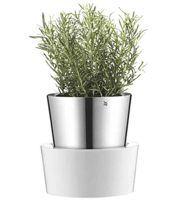 Онлайн каталог PROMENU: Емкость с гидросистемой для выращивания зелени WMF GRAND GOURMET, серебристый WMF 06 4131 6040