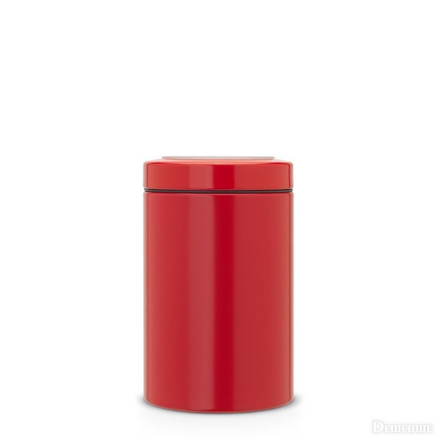 Онлайн каталог PROMENU: Емкость с крышкой для продуктов Brabantia, объем 1,4 л, красный Brabantia 484049