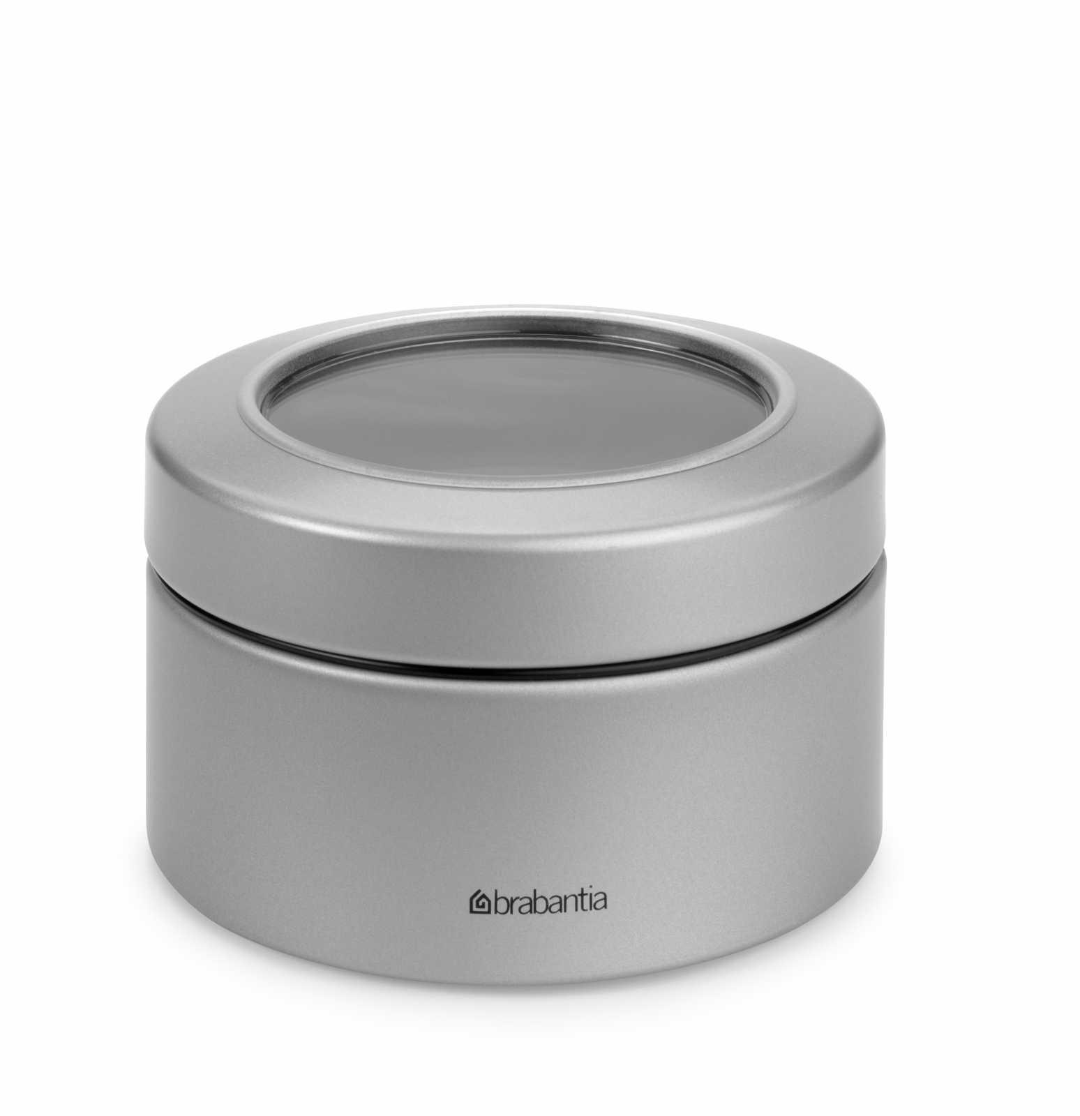 Онлайн каталог PROMENU: Емкость с крышкой для продуктов и окошком Brabantia, объем 0,5 л, серый Brabantia 477980