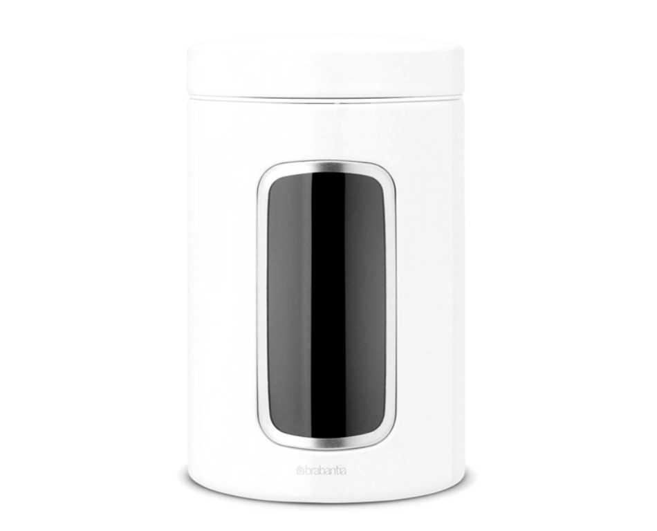 Онлайн каталог PROMENU: Емкость с крышкой для продуктов Brabantia, объем 1,4 л, белый Brabantia 491009