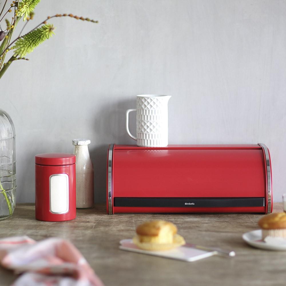 Емкость с крышкой для продуктов Brabantia, объем 1,4 л, красный Brabantia 484063 фото 1