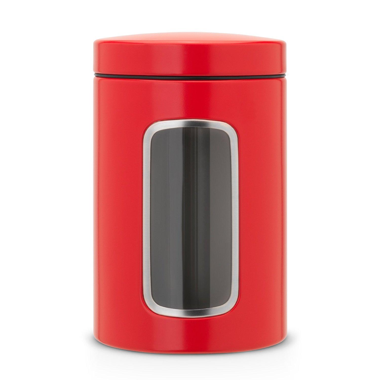 Онлайн каталог PROMENU: Емкость с крышкой для продуктов Brabantia, объем 1,4 л, красный Brabantia 484063