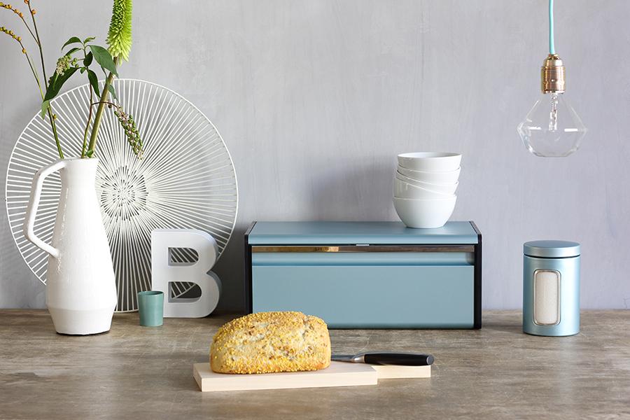 Емкость с крышкой для продуктов Brabantia, объем 1,4 л, металлик мятный Brabantia 484360 фото 2