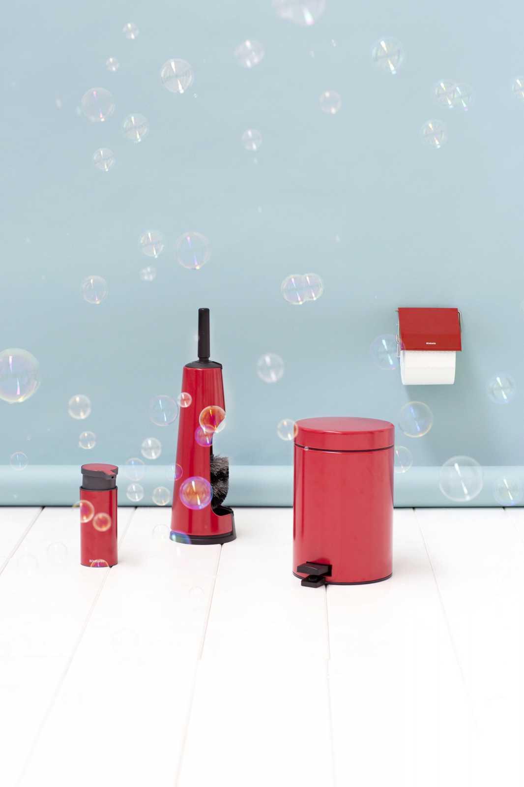Ершик туалетный с держателем Brabantia, красный с черным Brabantia 107849 фото 2