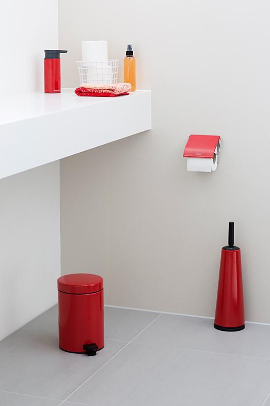 Ершик туалетный с держателем Brabantia, красный с черным Brabantia 107849 фото 3