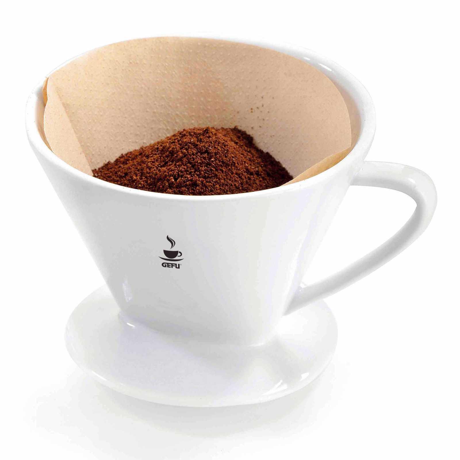 Онлайн каталог PROMENU: Фильтр фарфоровый для кофе GEFU, размер 2, белый GEFU 16030