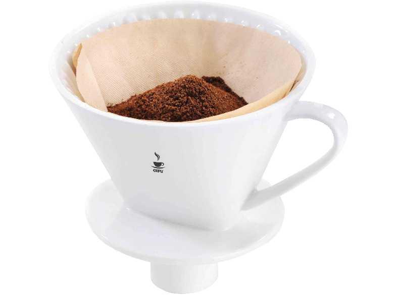 Онлайн каталог PROMENU: Фильтр фарфоровый для кофе GEFU, размер 4, белый GEFU 16020