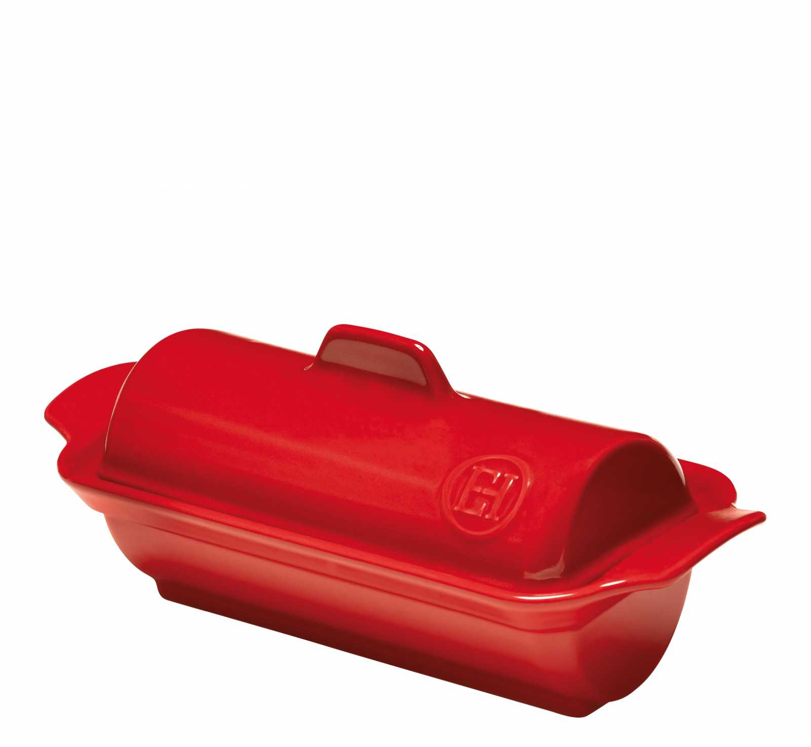 Онлайн каталог PROMENU: Форма для фуа-гра Emile Henry, 24,5x10,5 см, красный                               345865
