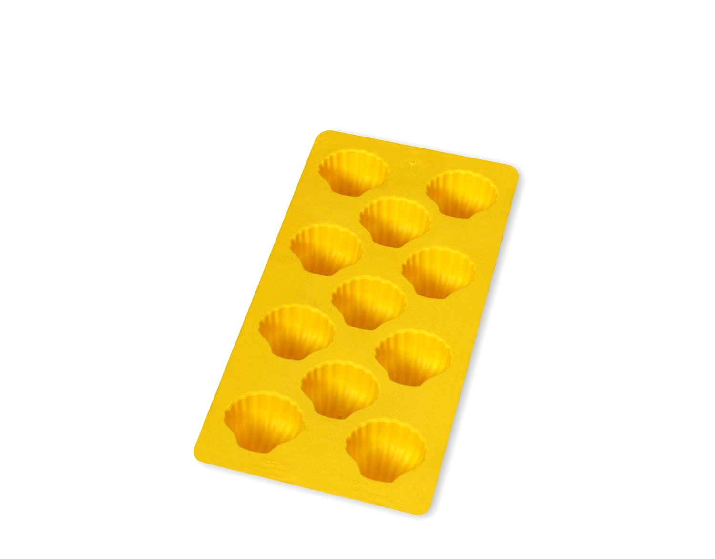 "Онлайн каталог PROMENU: Форма для льда ""ракушки"" Lekue, 22х11 см, желтый                               0850400A02C150"