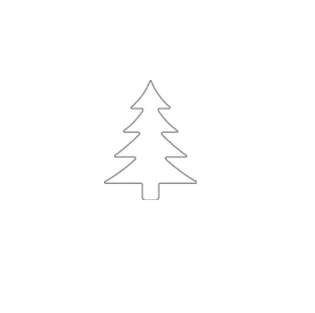 """Онлайн каталог PROMENU: Форма для печенья """"Елочка"""" Kaiser Backform COOKIE, 6х8х2,5 см, серебристый                                   23 0060 2394/1"""