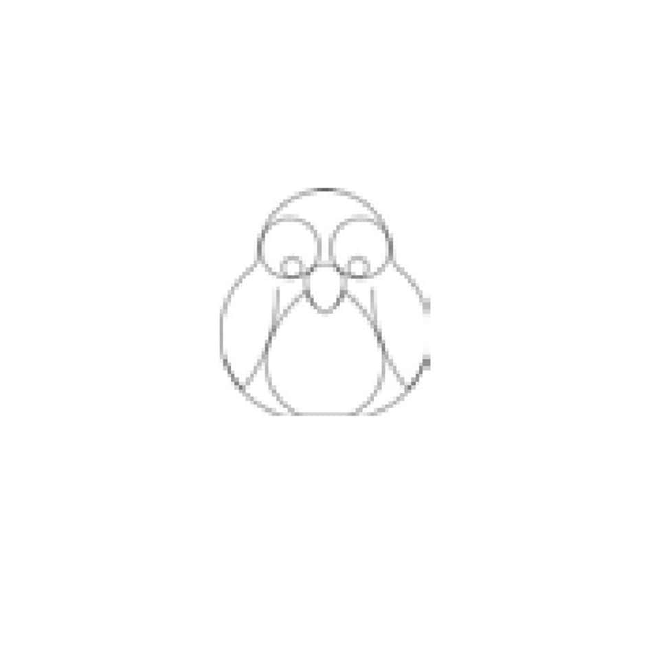 """Онлайн каталог PROMENU: Форма для печенья """"Пингвин"""" Kaiser Backform COOKIE, 8х8х2,5 см, серебристый                                   23 0060 3520/1"""