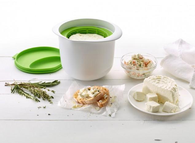 Форма для приготовления домашнего творога Lekue, объем 1 л, зеленый Lekue 0220100V06M017 фото 7