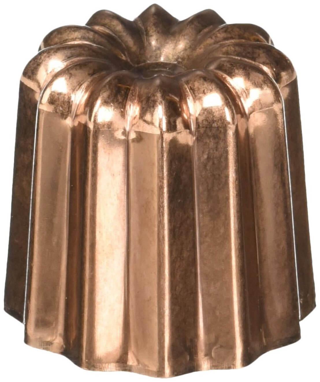 Онлайн каталог PROMENU: Форма для выпечки de Buyer Pastry, объем 100 мл, диаметр 5,5 см, высота 5,2 см De Buyer 6820.55