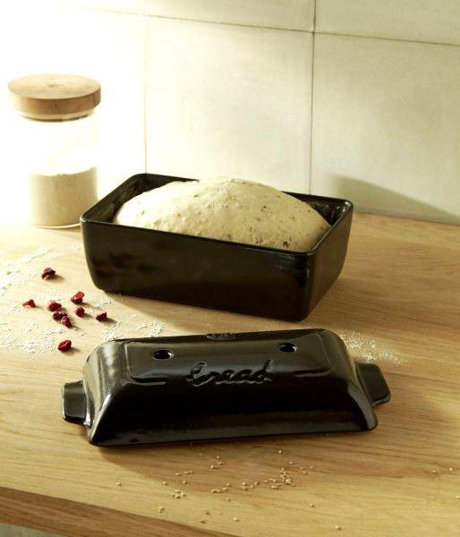 Форма для выпечки хлеба с крышкой Emile Henry, 28x15x12 см, черный Emile Henry 795504 фото 2