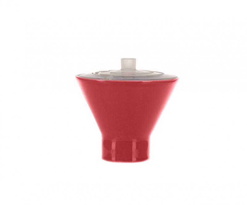 Онлайн каталог PROMENU: Форма для яйца с крышкой-минутка Emile Henry, 10 см, красный                                   429109