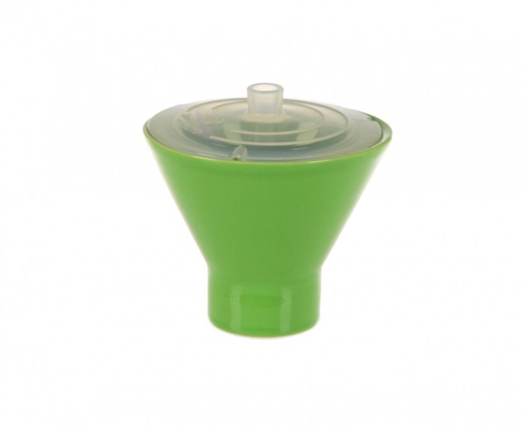Онлайн каталог PROMENU: Форма для яйца с крышкой-минутка Emile Henry, 10 см, зеленое яблоко                                   759109