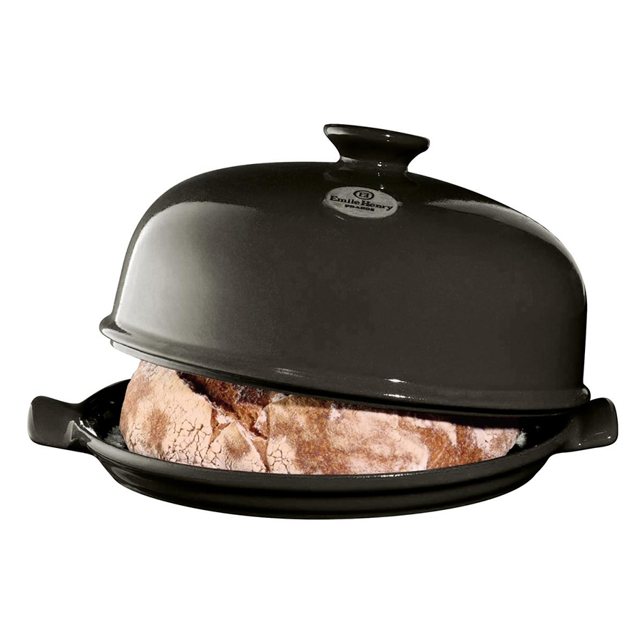 Онлайн каталог PROMENU: Форма с крышкой для выпечки хлеба Emile Henry, 33,5x28,5x16,5 см, черный Emile Henry 799108
