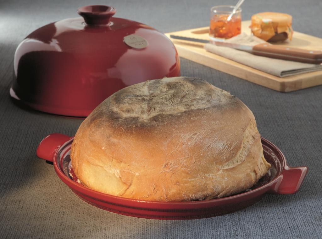 Форма с крышкой для выпечки хлеба Emile Henry, 33,5x28,5x16,5 см, красный Emile Henry 349108 фото 4